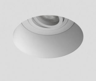 Astro 1253004 Round Blanco Plaster In Downlight