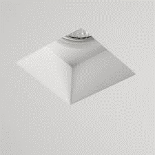 GUIX Square Plaster In GU10 Downlight